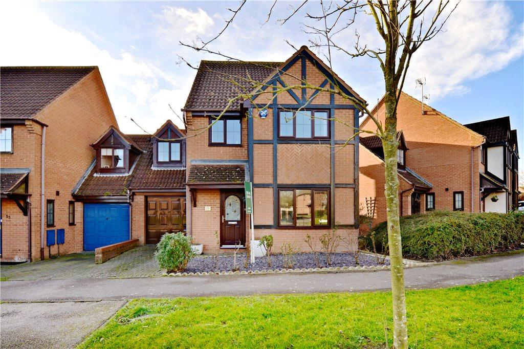 4 Bedrooms Detached House for sale in Chipping Vale, Emerson Valley, Milton Keynes