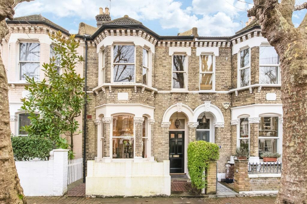5 Bedrooms Terraced House for sale in Amerland Road, London, SW18