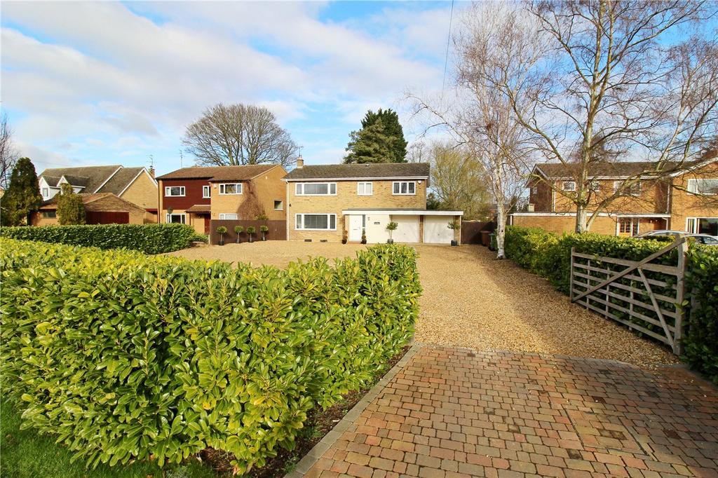 5 Bedrooms Detached House for sale in Peakirk Road, Deeping Gate, Peterborough, Cambridgeshire, PE6