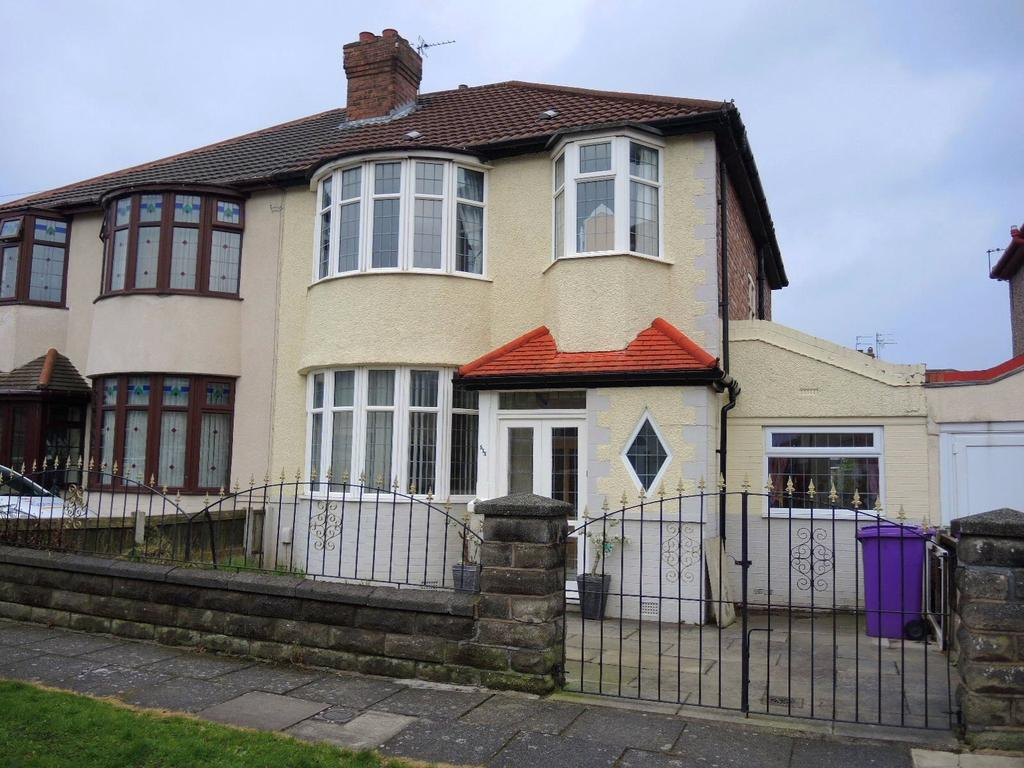 3 Bedrooms Semi Detached House for sale in Avolon Road, Liverpool, Merseyside, L12