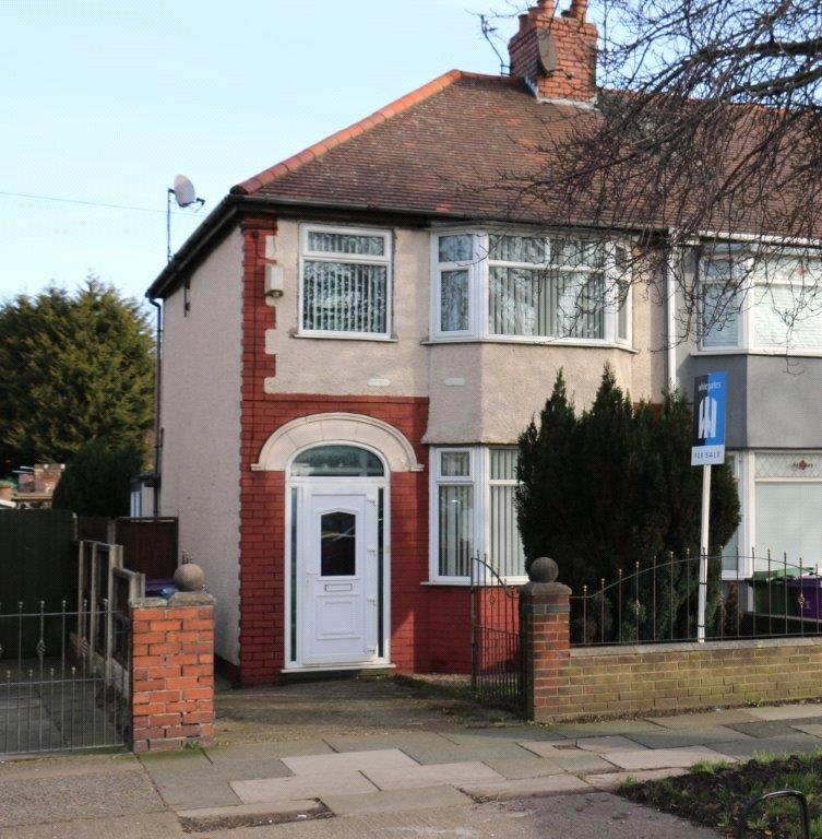 3 Bedrooms End Of Terrace House for sale in Bowring Park Road, Liverpool, L14