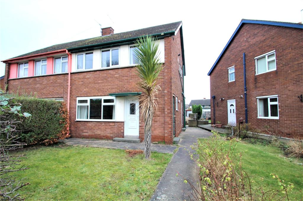 3 Bedrooms Semi Detached House for sale in Baden Powell Crescent, Pontefract, West Yorkshire, WF8
