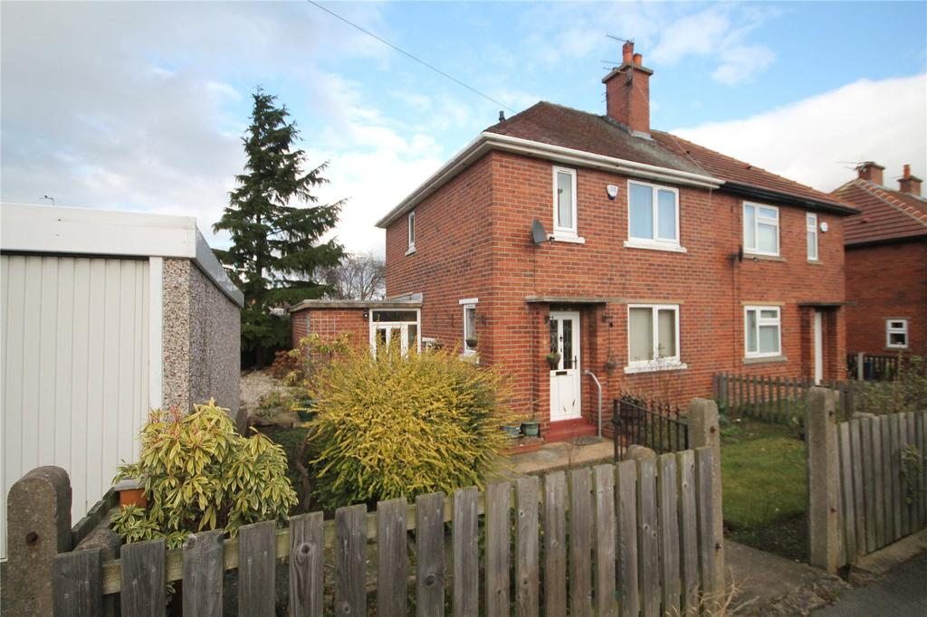 2 Bedrooms Semi Detached House for sale in Kirk Cross Crescent, Royston, Barnsley, S71