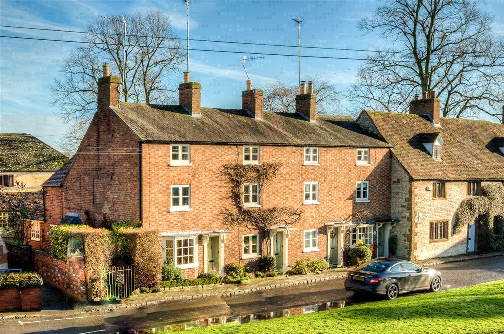 3 Bedrooms End Of Terrace House for sale in Oddfellow Cottages, Southam Street, Kineton, Warwick, CV35