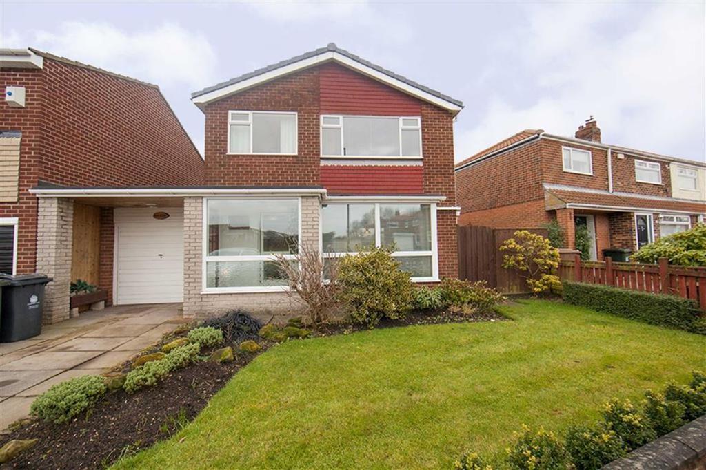 3 Bedrooms Detached House for sale in Warkworth Avenue, Kings Estate, Wallsend, NE28