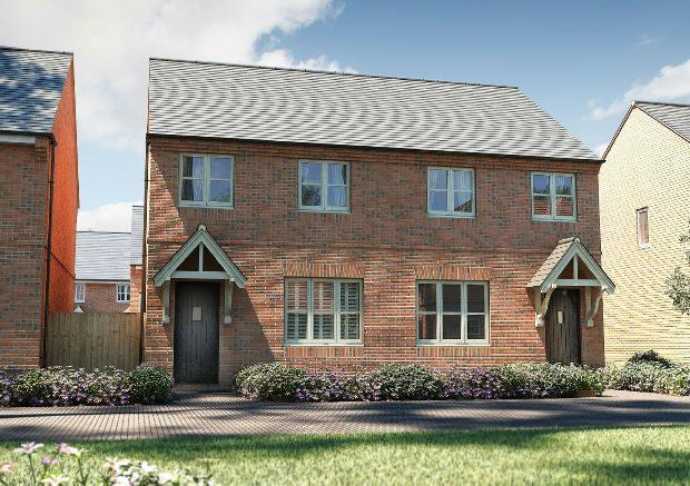 3 Bedrooms Semi Detached House for sale in Banbury Rise, Banbury