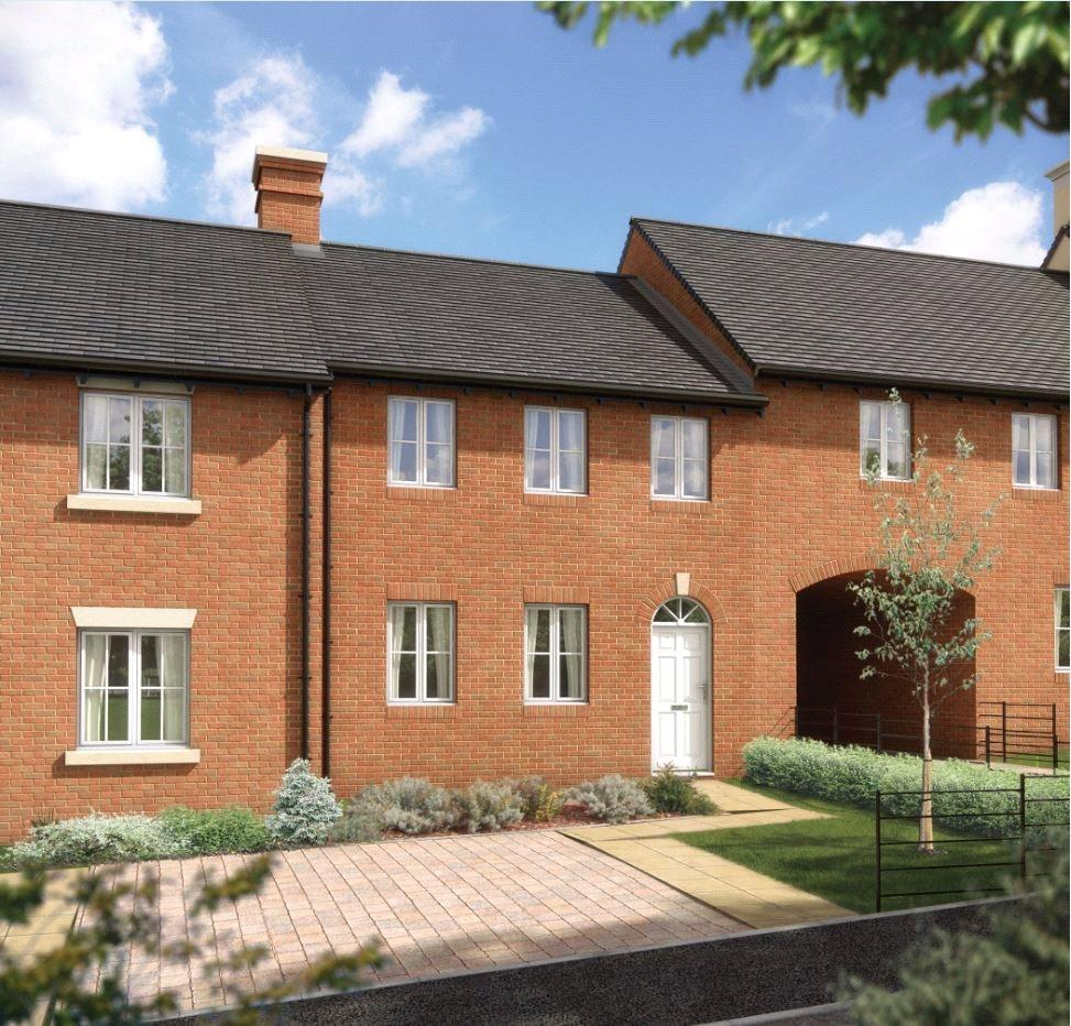 3 Bedrooms Terraced House for sale in The Gardiner, Winchester Village, Winchester, Hampshire, SO22
