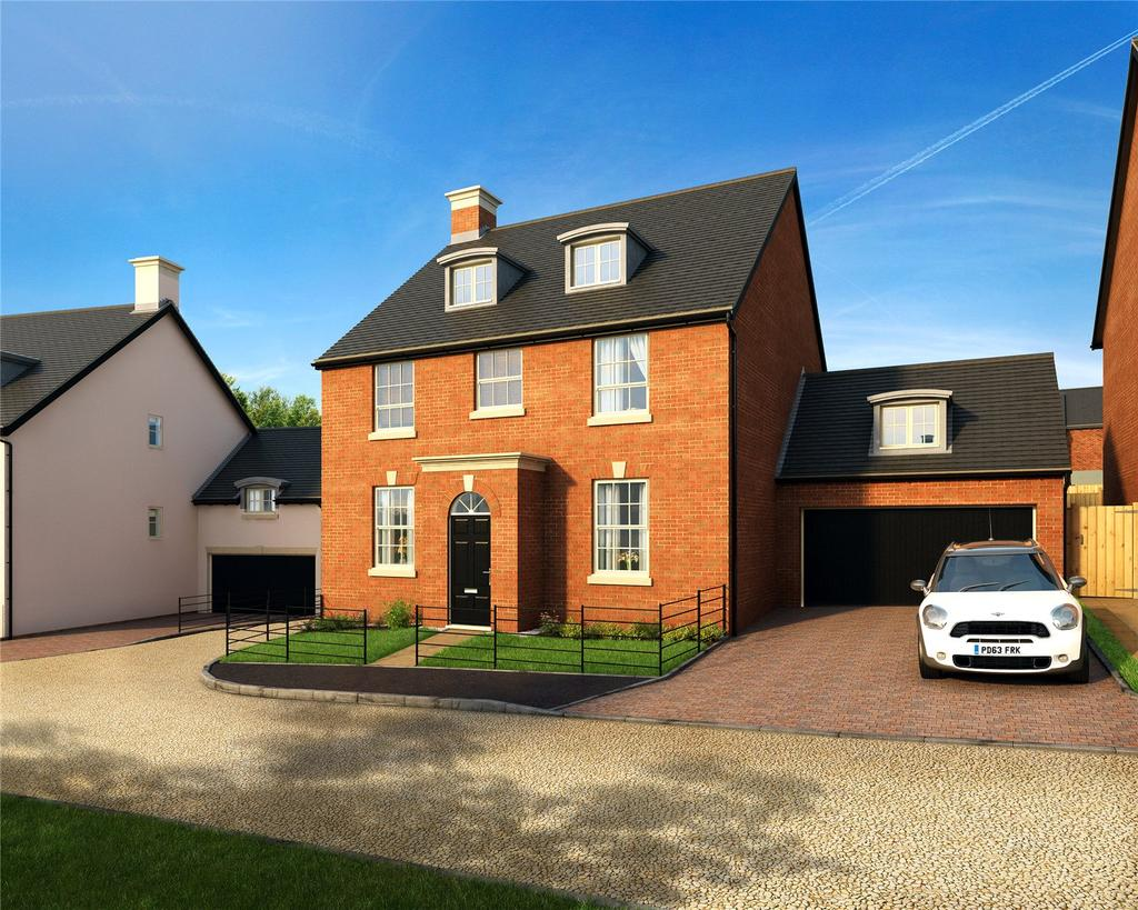 5 Bedrooms Detached House for sale in The Henrietta, Winchester Village, Winchester, Hampshire, SO22