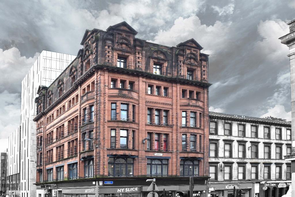 1 Bedroom Flat for sale in Pitt Street, Flat 2, City Centre, Glasgow, G2 4DT