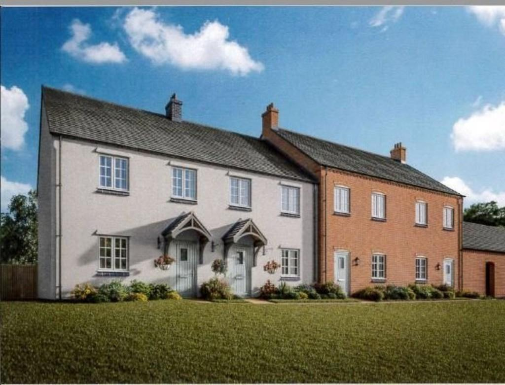 3 Bedrooms Semi Detached House for sale in Willow Cottage, Normanton Road, Packington
