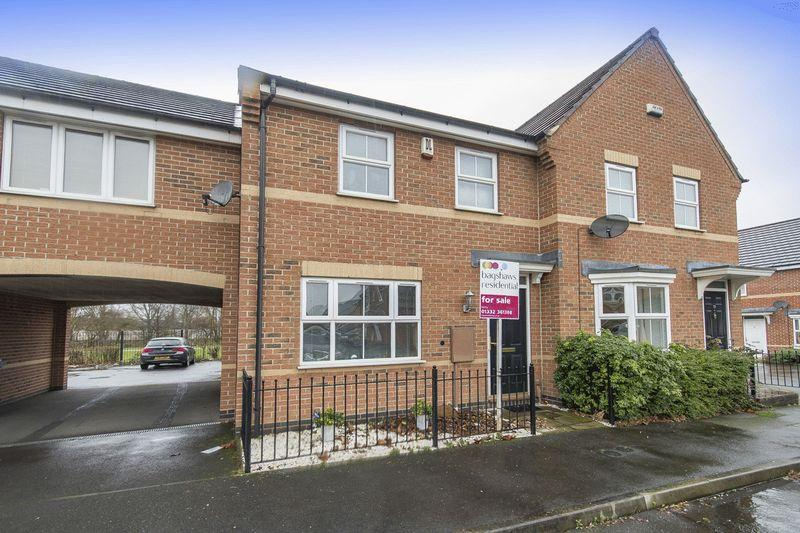 3 Bedrooms Terraced House for sale in Damson Grove, City Point, Derby