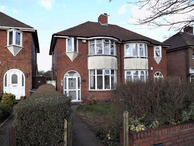 3 Bedrooms Semi Detached House for sale in Kings Road, Sutton Coldfield