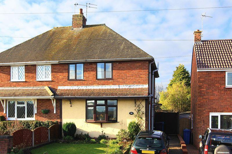 2 Bedrooms Semi Detached House for sale in WOMBOURNE, Wood Road