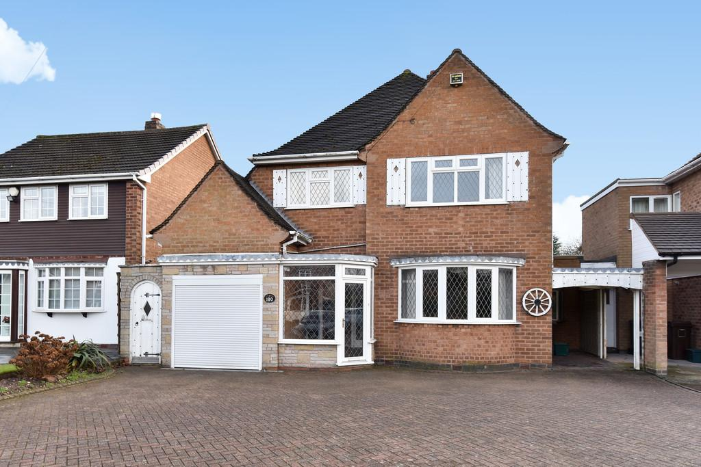 3 Bedrooms Detached House for sale in Solihull Road, Shirley