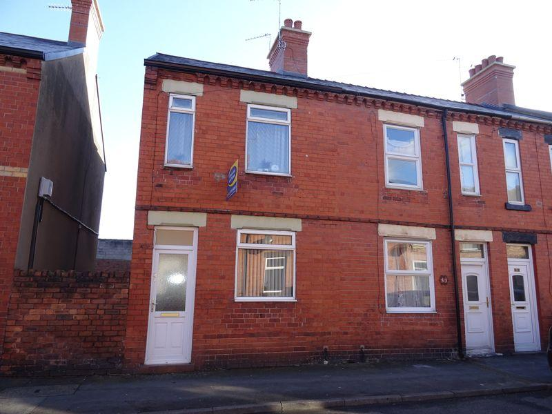 2 Bedrooms End Of Terrace House for sale in Gibson Street, Wrexham