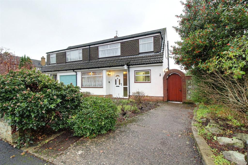3 Bedrooms Semi Detached House for sale in Alandale Close, Reading, Berkshire, RG2
