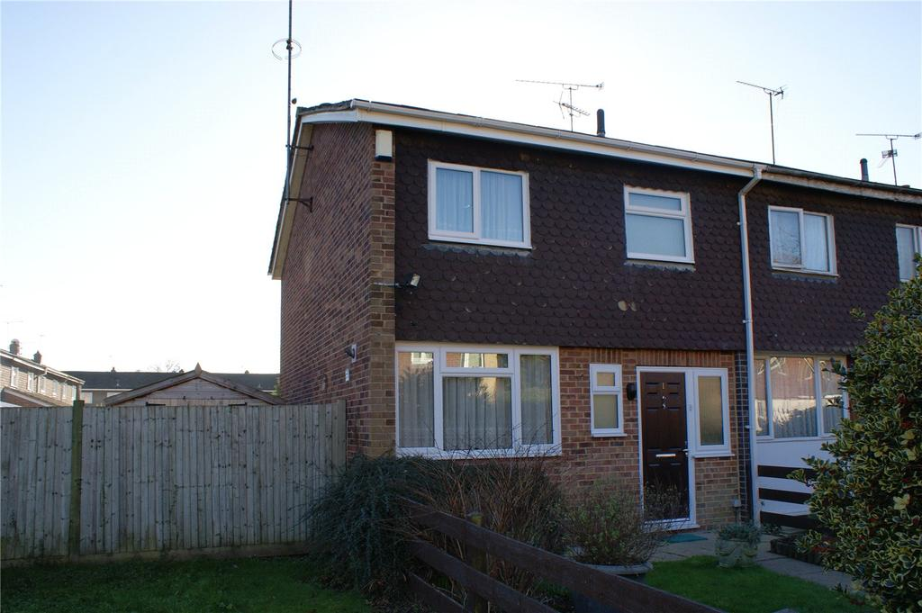 3 Bedrooms End Of Terrace House for sale in Shelgate Walk, Woodley, Reading, Berkshire, RG5