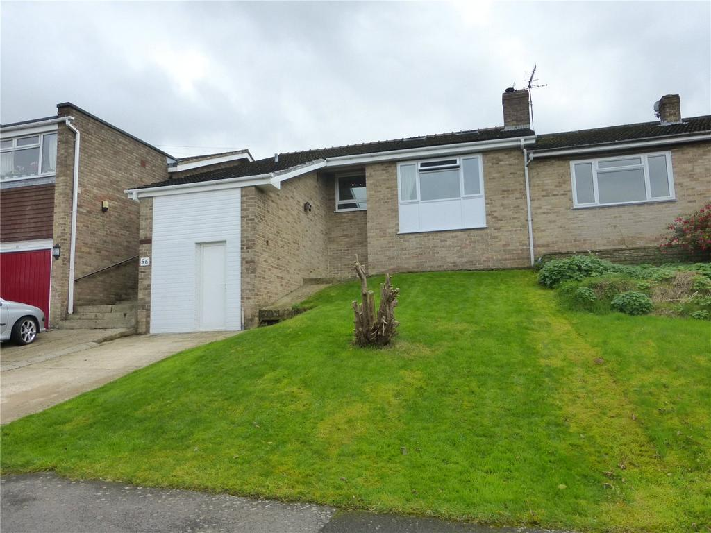 3 Bedrooms Semi Detached Bungalow for sale in Langtoft Road, Stroud, Gloucestershire, GL5