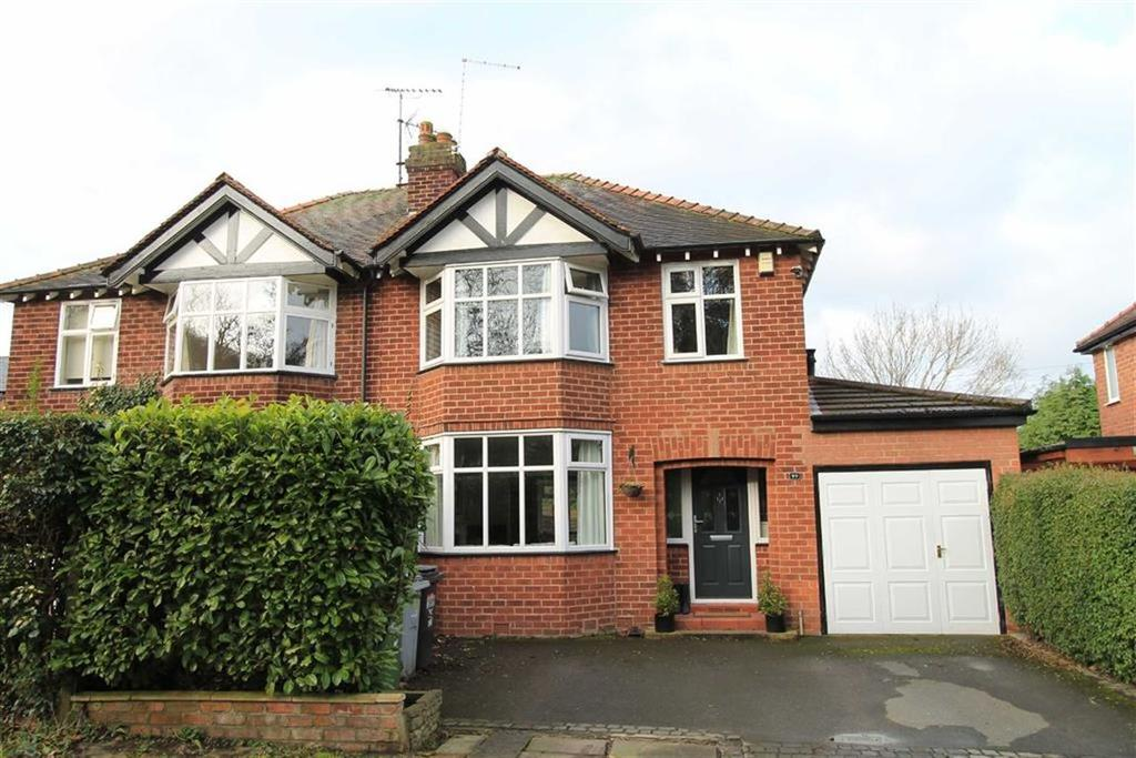 3 Bedrooms Semi Detached House for sale in Moss Lane, Alderley Edge