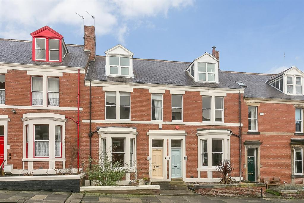 4 Bedrooms Terraced House for sale in Salisbury Gardens, Jesmond Vale, Newcastle upon Tyne