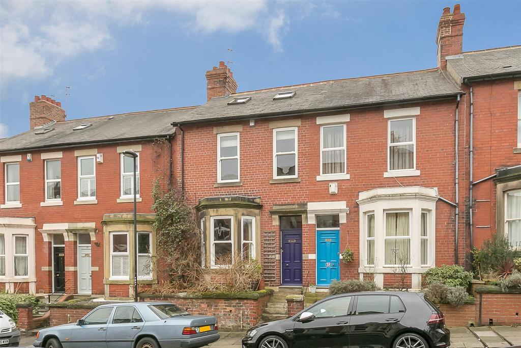 3 Bedrooms Terraced House for sale in Salisbury Gardens, Jesmond Vale, Newcastle upon Tyne