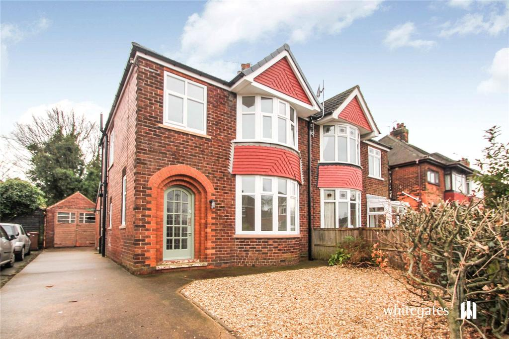 3 Bedrooms Semi Detached House for sale in Bushfield Road, Scunthorpe, Lincolnshire, DN16