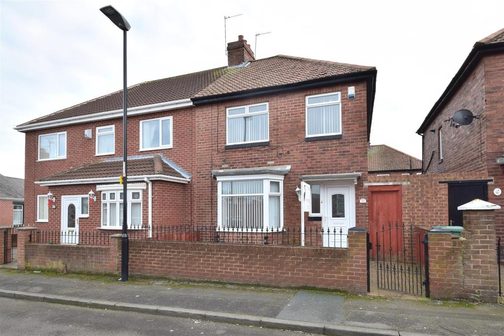 3 Bedrooms Semi Detached House for rent in Cheviot Street, Sunderland