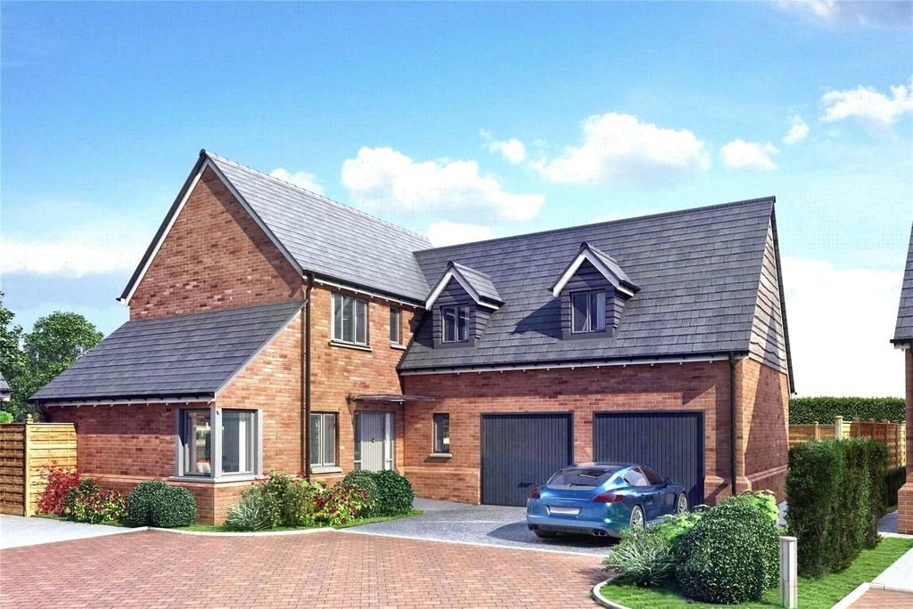 4 Bedrooms Detached House for sale in Plot 8, Bookers Edge, Newport Street, Hay On Wye