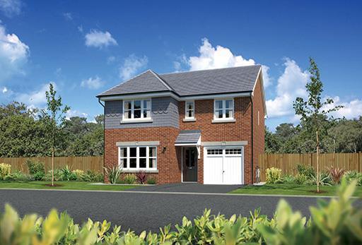 4 Bedrooms Detached House for sale in Winterley Gardens, Winterterley