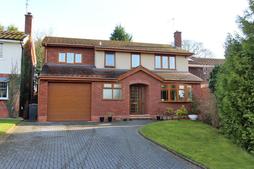 4 Bedrooms Detached House for sale in Ravensholme, Wightwick, Wolverhampton, WV6