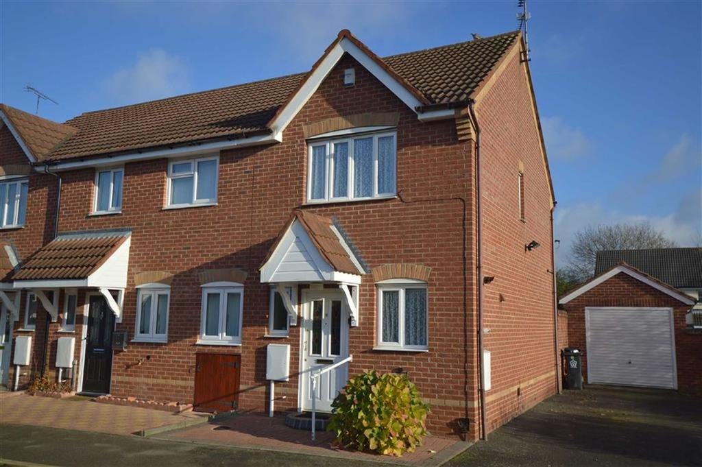 2 Bedrooms Semi Detached House for sale in Stanier Drive, Thurmaston