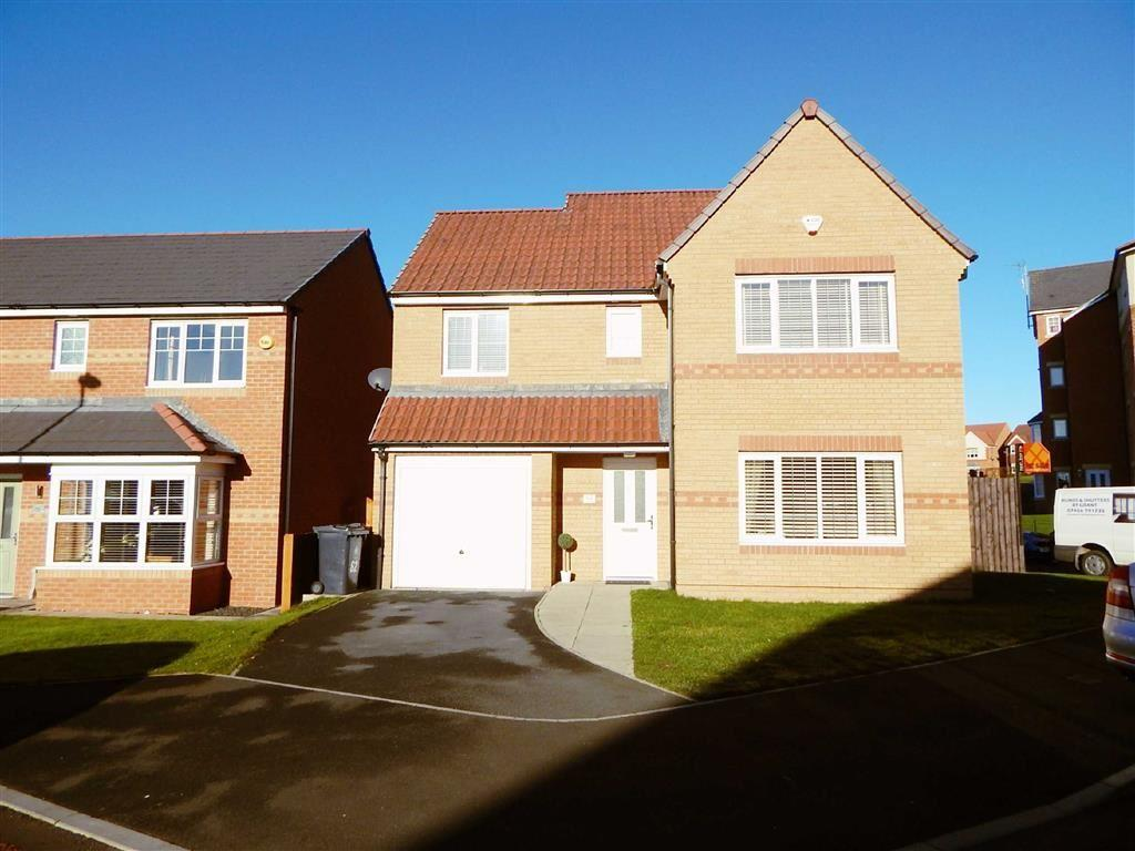 4 Bedrooms Detached House for sale in Cawfields Close, Wallsend, Tyne And Wear, NE28