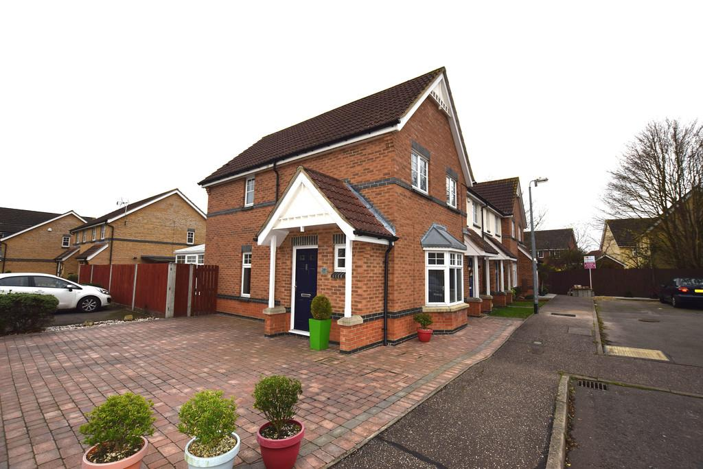 3 Bedrooms End Of Terrace House for sale in Crabs Croft, Braintree