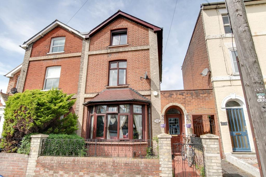 4 Bedrooms Town House for sale in North Station Road, Colchester, CO1