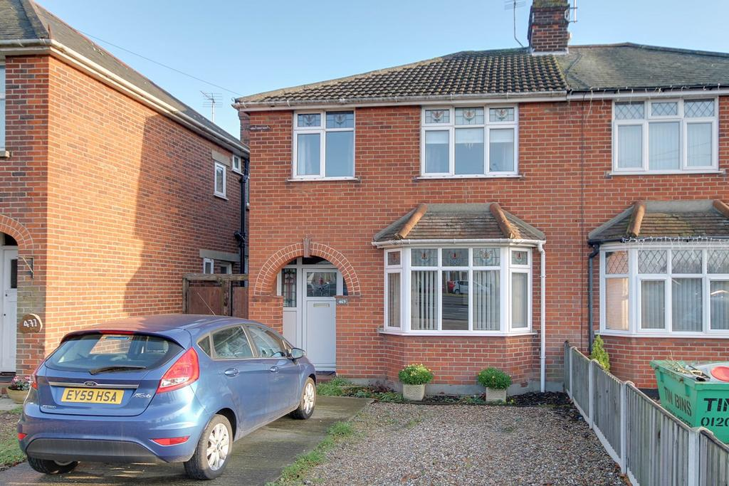 3 Bedrooms Semi Detached House for sale in Ipswich Road, Colchester, CO4