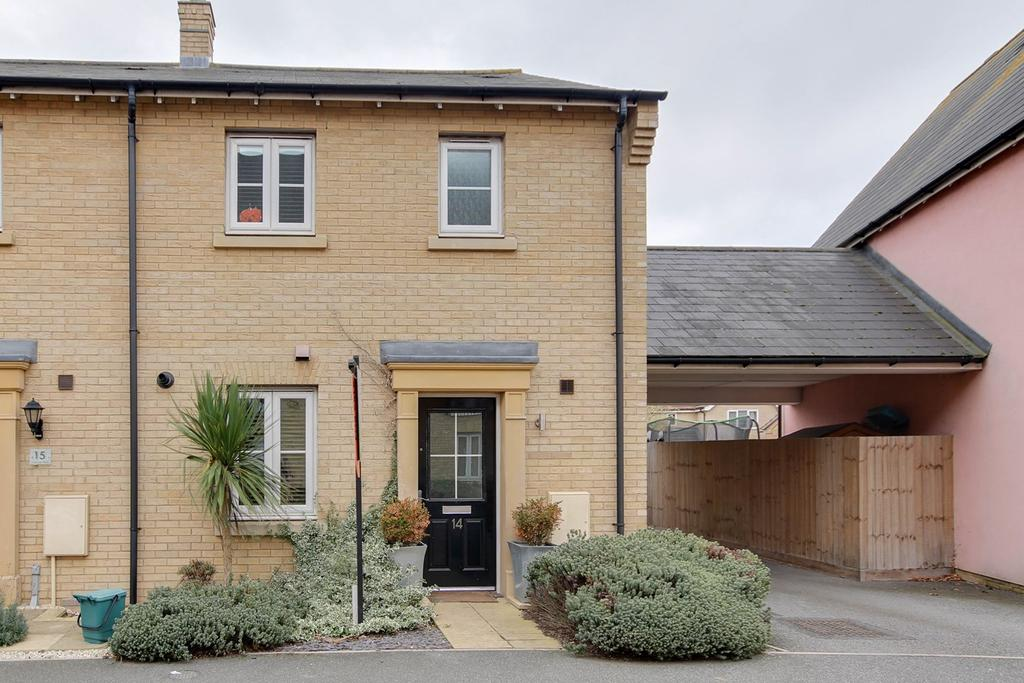 3 Bedrooms End Of Terrace House for sale in Chapman Place, Colchester, CO4