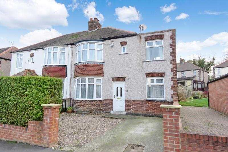 3 Bedrooms Semi Detached House for sale in Backmoor Road, Norton, Sheffield, S8 8LB
