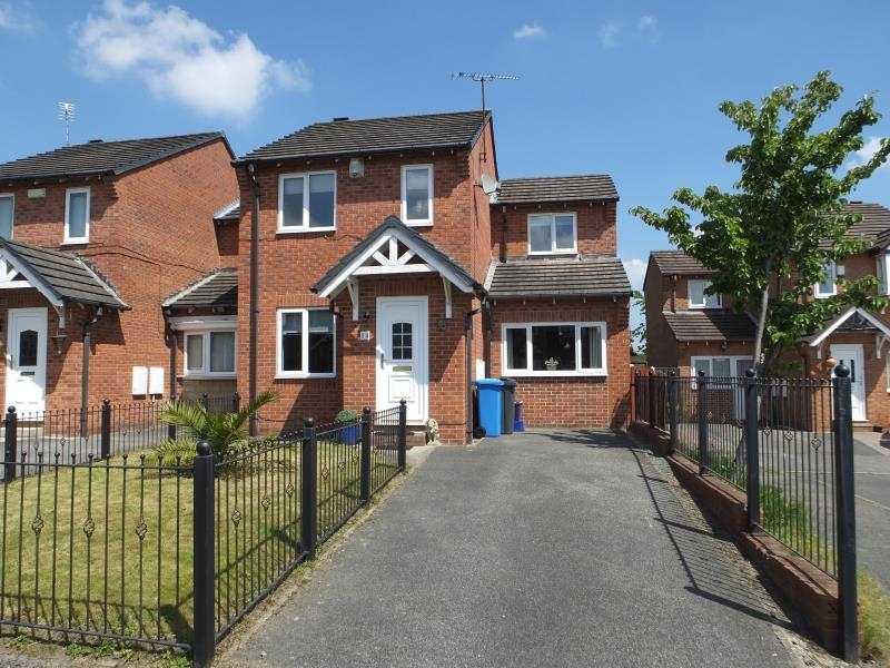 3 Bedrooms End Of Terrace House for sale in Jordanthorpe Green, Jordanthorpe, Sheffield, S8 8DZ