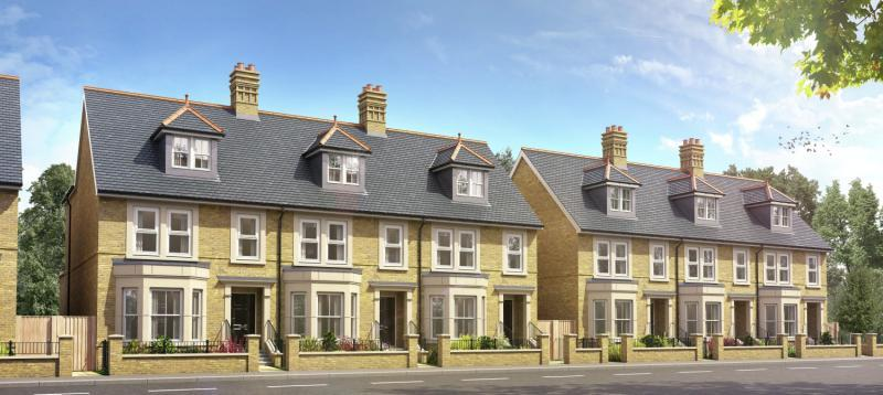 4 Bedrooms Semi Detached House for sale in Radcliffe House, Beaumont Gate, Abbey Road, Oxford