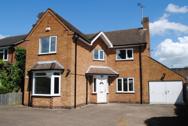 3 Bedrooms Detached House for sale in Castledine Street, Loughborough