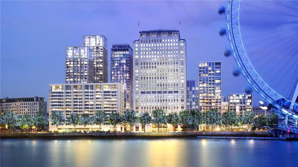 2 Bedrooms Flat for sale in Southbank Place, 30 Casson Square, South Bank, London, SE1