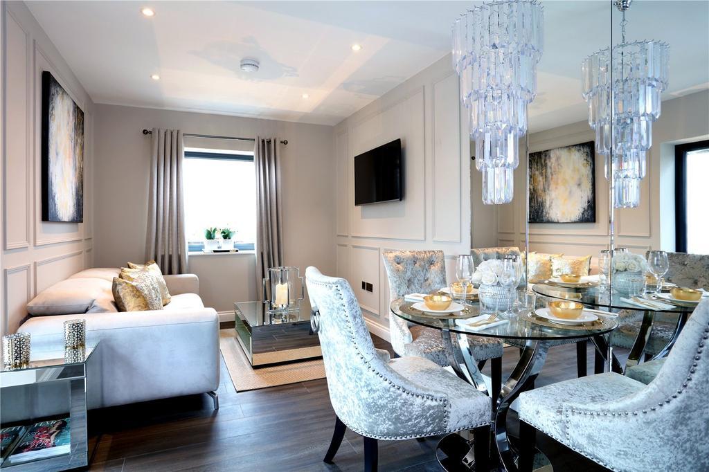 1 Bedroom Flat for sale in Magna Riverside, Flambard Way, Godalming, Surrey, GU7