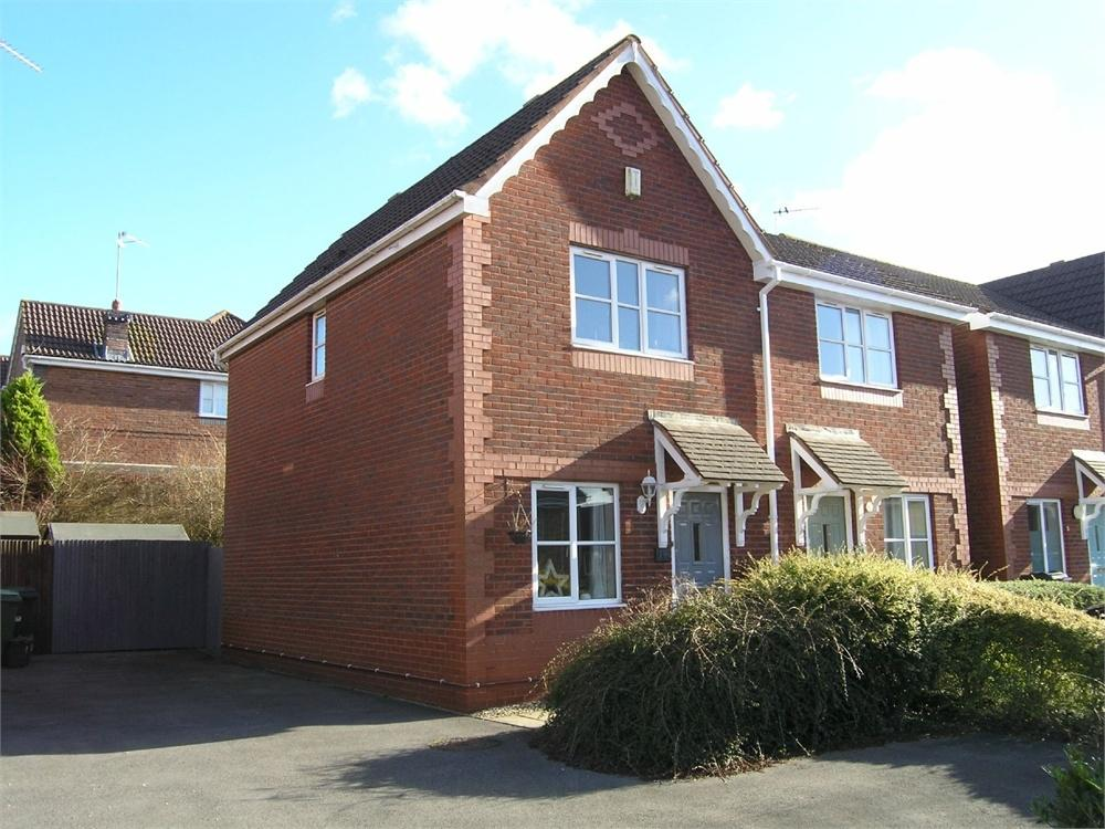 2 Bedrooms Semi Detached House for sale in Knole Close, Pontprennau, Cardiff