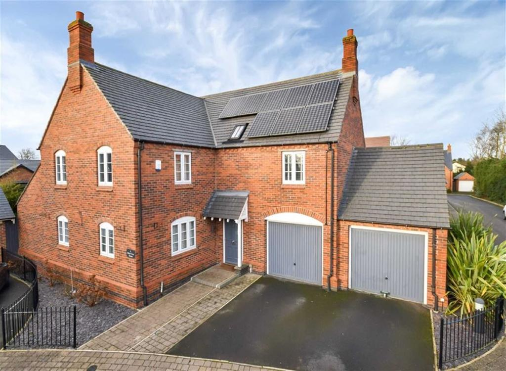 4 Bedrooms Detached House for sale in Hill Top Close, Lubenham Hill, Market Harborough, Leicestershire