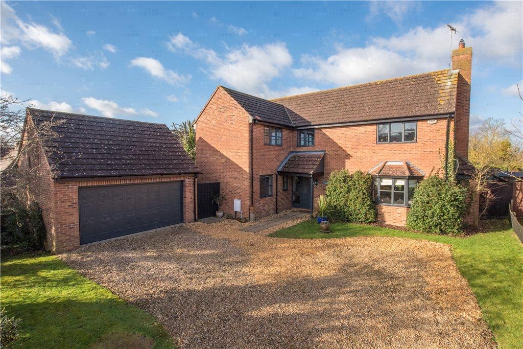 4 Bedrooms Detached House for sale in Nags Head Lane, Hargrave, Northamptonshire
