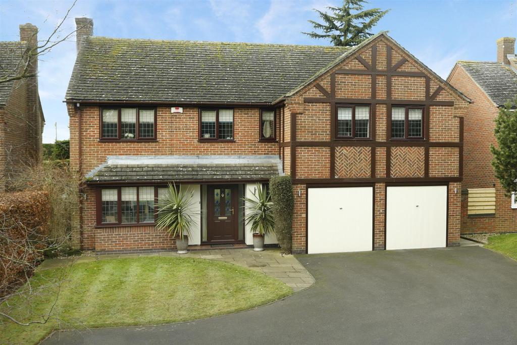 5 Bedrooms Detached House for sale in Rochester Close, Kibworth Harcourt, Leicestershire