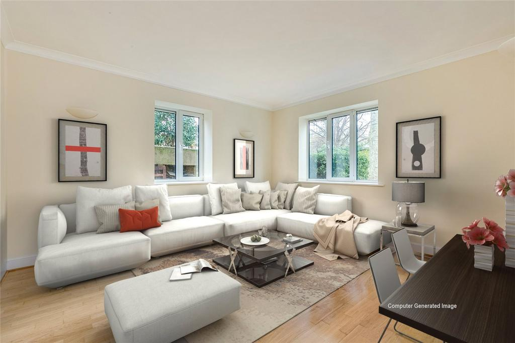 1 Bedroom Flat for sale in Chiswick Court, 1a Silver Crescent, London