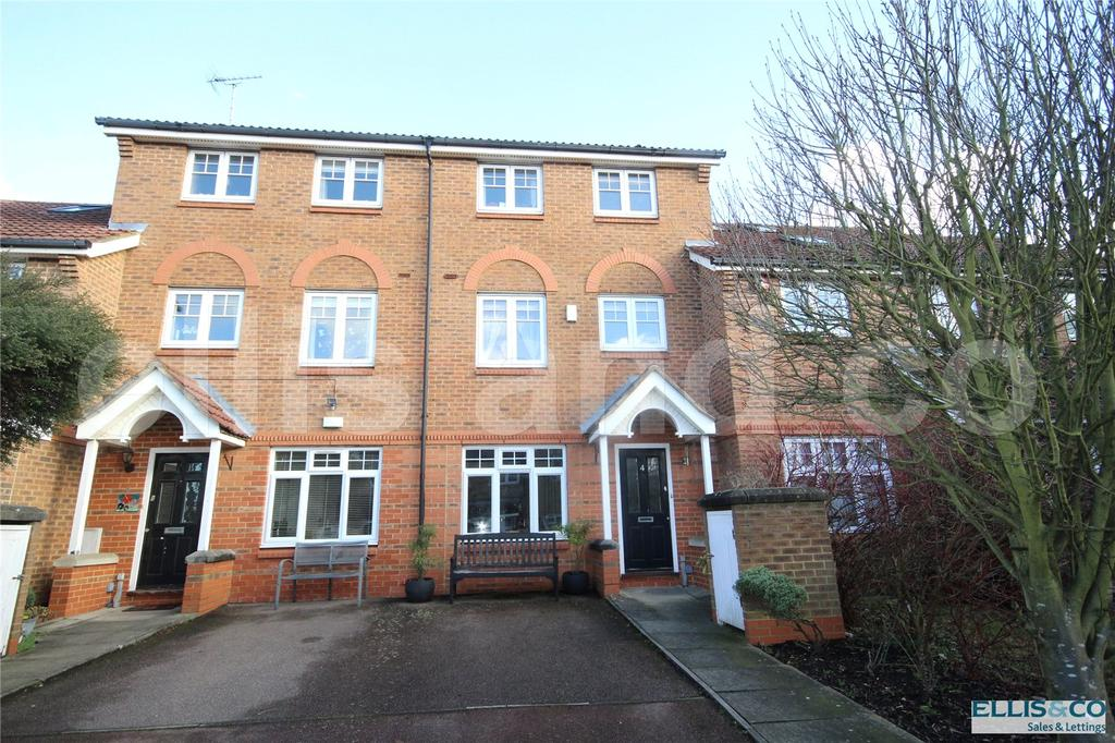 3 Bedrooms Terraced House for sale in Hibiscus Close, Edgware, Middlesex, HA8