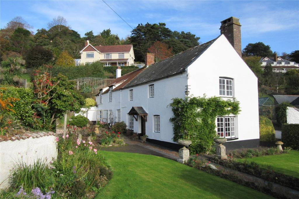 5 Bedrooms Detached House for sale in Shute Farm, St Michaels Road, Minehead, Somerset, TA24