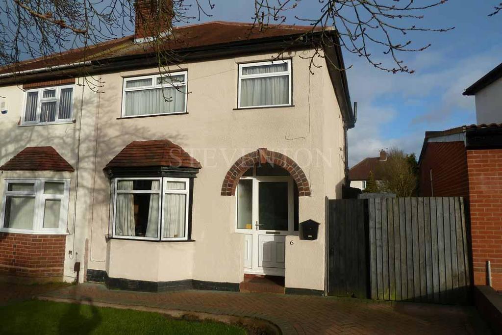 3 Bedrooms Semi Detached House for sale in Regent Road, Penn, Wolverhampton, WV4